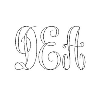 Initials On Front - Monogram